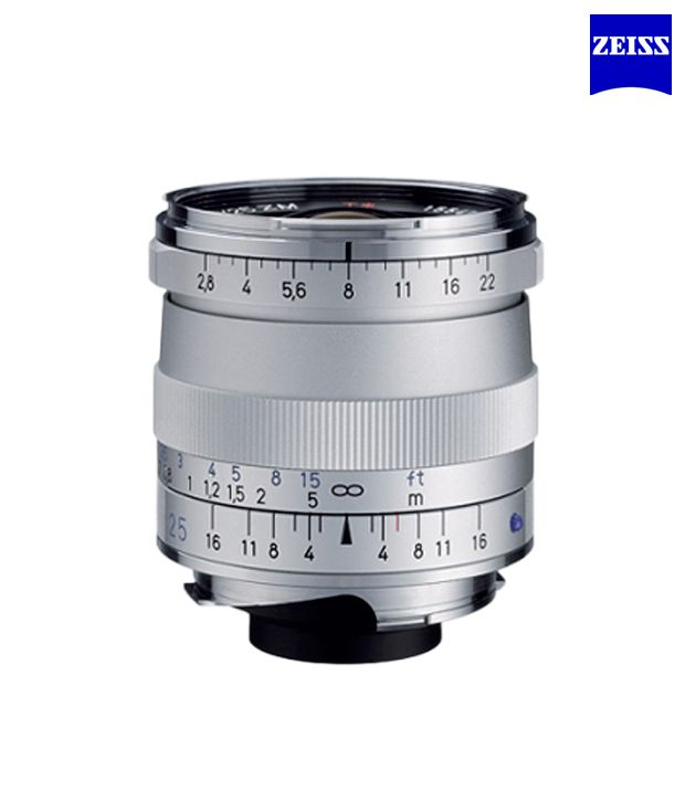 Carl Zeiss Biogon T 2,8/25 ZM  (Silver) ZM Lenses (M-Mount  Rangefinder) (1365-652 )