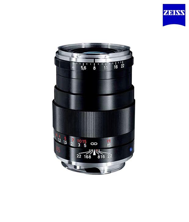 Carl Zeiss Tele Tessar 4/85 ZM  (Black) ZM Lenses (M-Mount  Rangefinder) (1486-395)