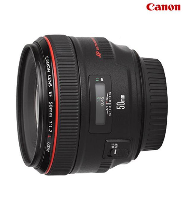 Canon -EF 50mmf/1.2 L USM Lens
