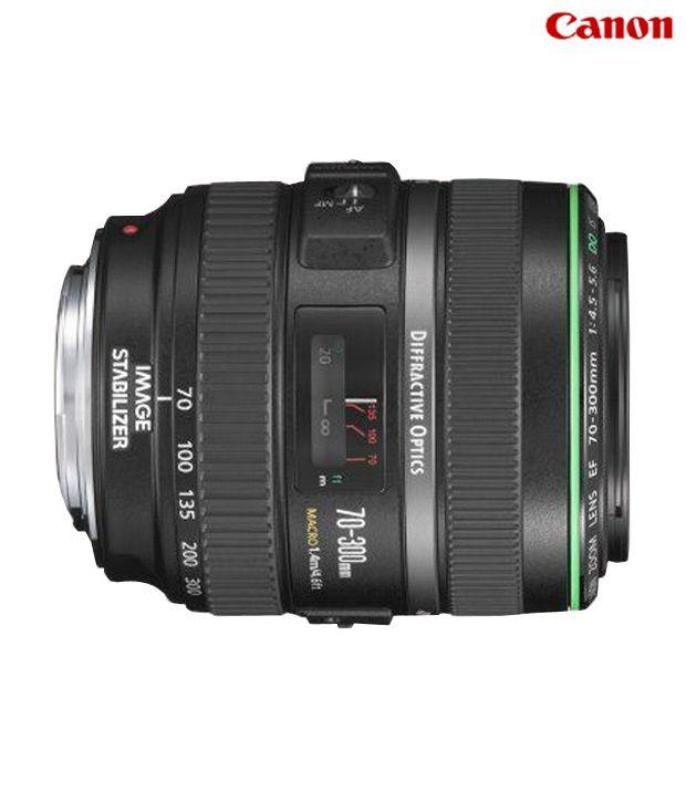 Canon -EF 70-300mm f/4.5-5.6 DO IS USM Lens