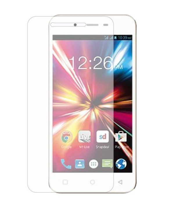 Micromax Canvas Juice 2 AQ5001 Tempered Glass Screen Guard by NEUTRON