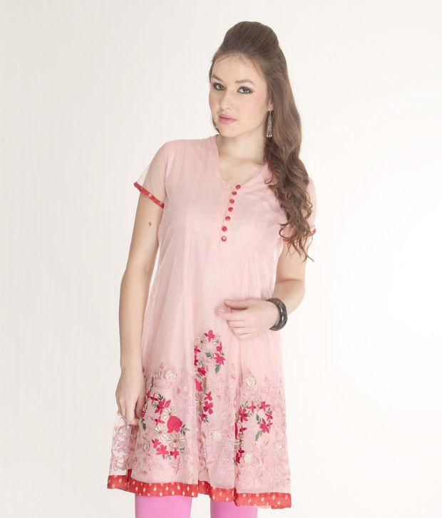 Paislei Trendy Pink Suit Set