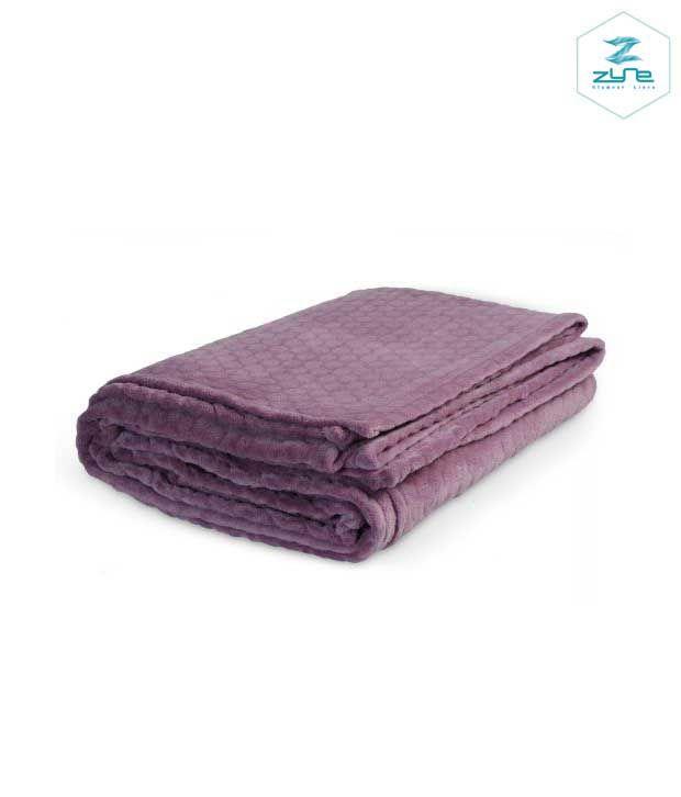 Zyne Qiana Comfy Pink Single Blanket