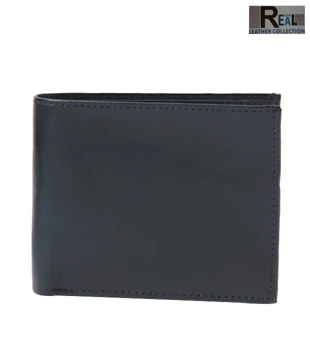 Real Sober Black Matt Finish Wallet