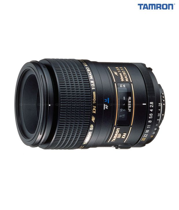 Tamron -272E SP AF90 mm F/2.8 Di  1:1 Macro w/ hood and case (Sony)