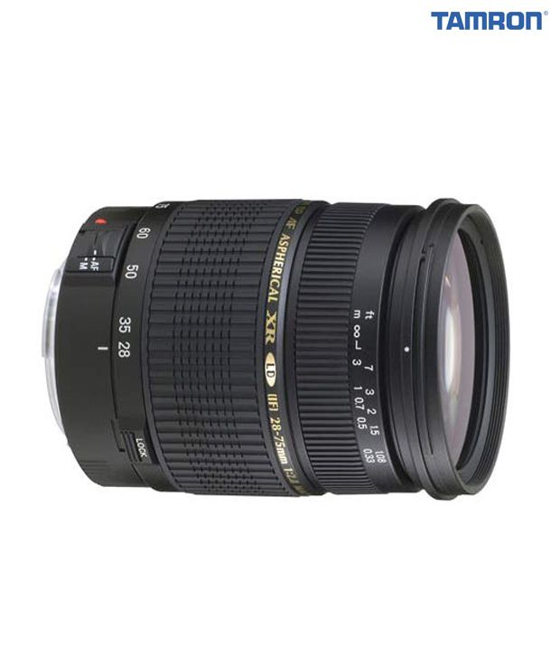 Tamron -A09 SP AF28-75  mm F/2.8  XR Di LD Aspherical (IF) w/ hood  (Canon)