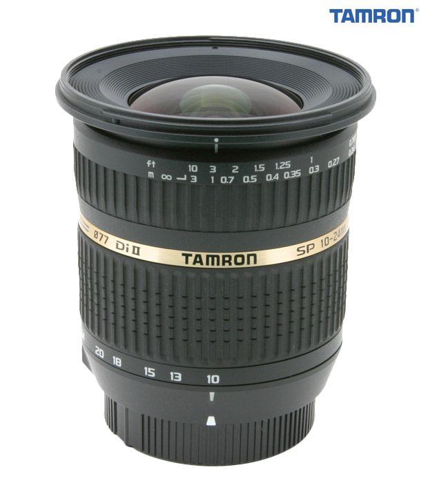 Tamron -B001 SP AF10-24  mm  F/3.5-4.5 Di-II LD Aspherical (IF)  w/ hood (Sony)