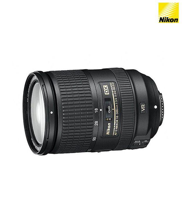 Nikon 18-300VR f/3.5-5.6GED AF-S  DX Lens (DX Format)