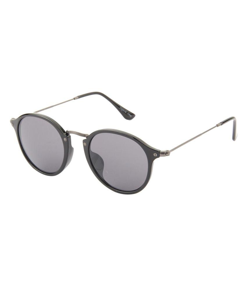 d9efa2a60cf Farenheit Gray Small Round Sunglasses For Men   Women - Buy Farenheit Gray  Small Round Sunglasses For Men   Women Online at Low Price - Snapdeal