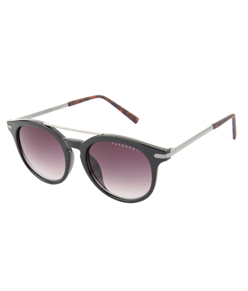 09a92867ef5 Farenheit Purple Medium Round Sunglasses For Women - Buy Farenheit Purple  Medium Round Sunglasses For Women Online at Low Price - Snapdeal