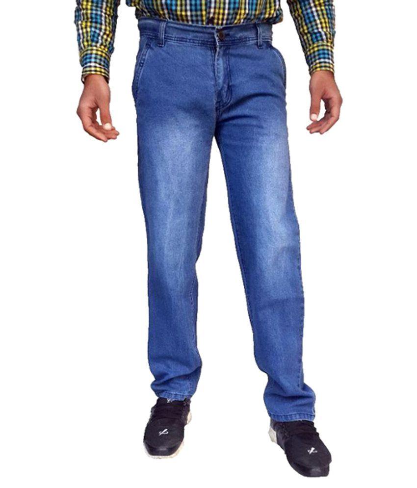 Kcoy Blue Regular Fit Jeans