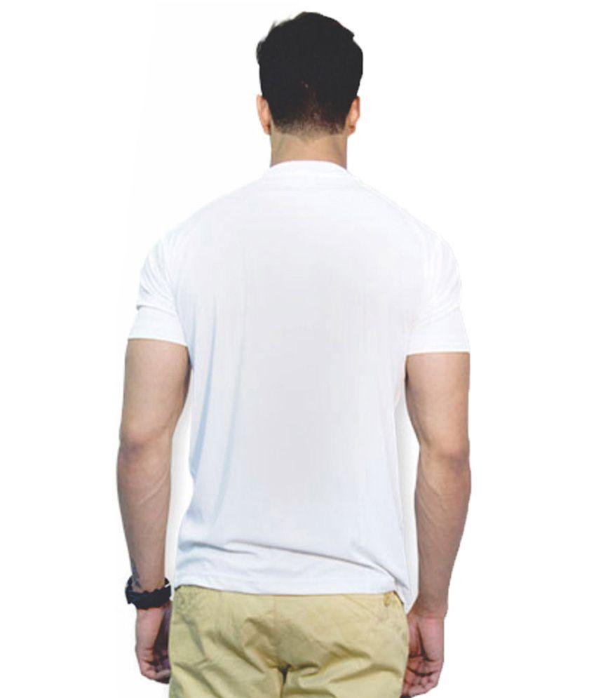 Laconic Design Solutions White Cotton T-shirt
