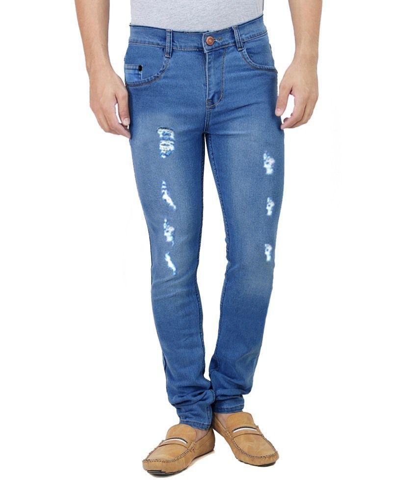 Haltung Blue Skinny Fit Jeans