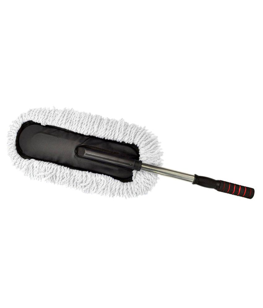 Takecare Microfiber Washable Duster With Dry Amp Wet Cleaning For Bmw X1 White Buy Takecare