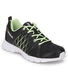 Reebok Pulse Run Black Sports Shoes