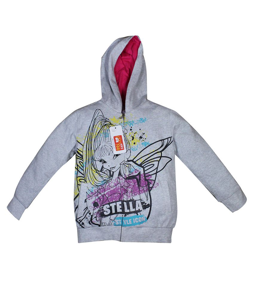 FS Miniklub Winx Gray Hooded Sweatshirt