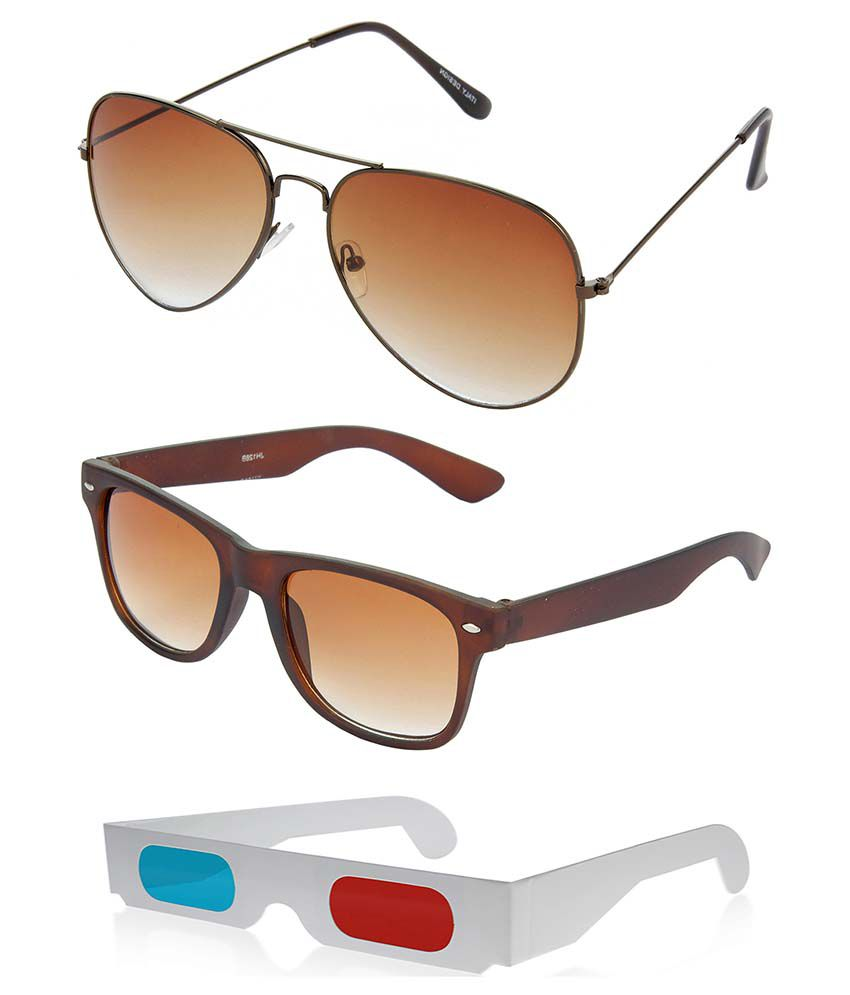 Hrinkar Hcmb377 Multicolor Aviator Sunglasses - Combo Of 3 - Buy Hrinkar  Hcmb377 Multicolor Aviator Sunglasses - Combo Of 3 Online at Low Price -  Snapdeal 12baf359ac