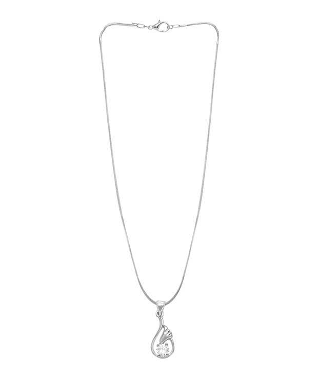 Jewelz Silver Alloy Pendant