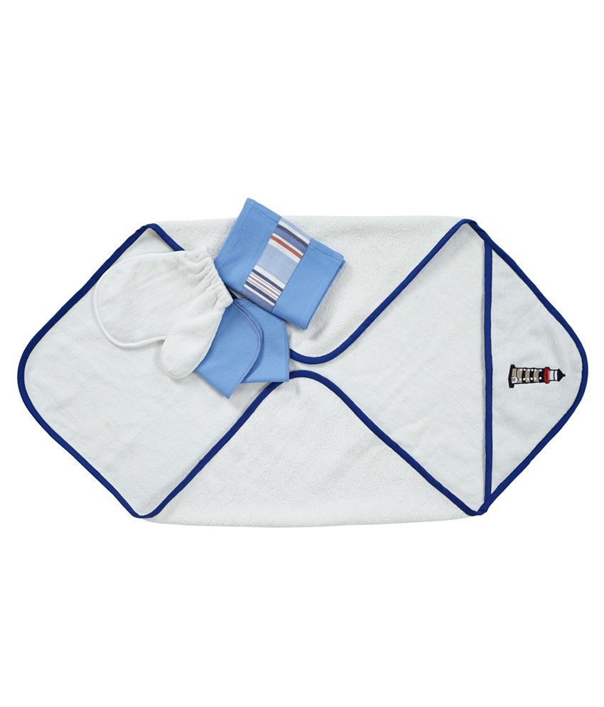 Maspar Light House Infant Towel Set