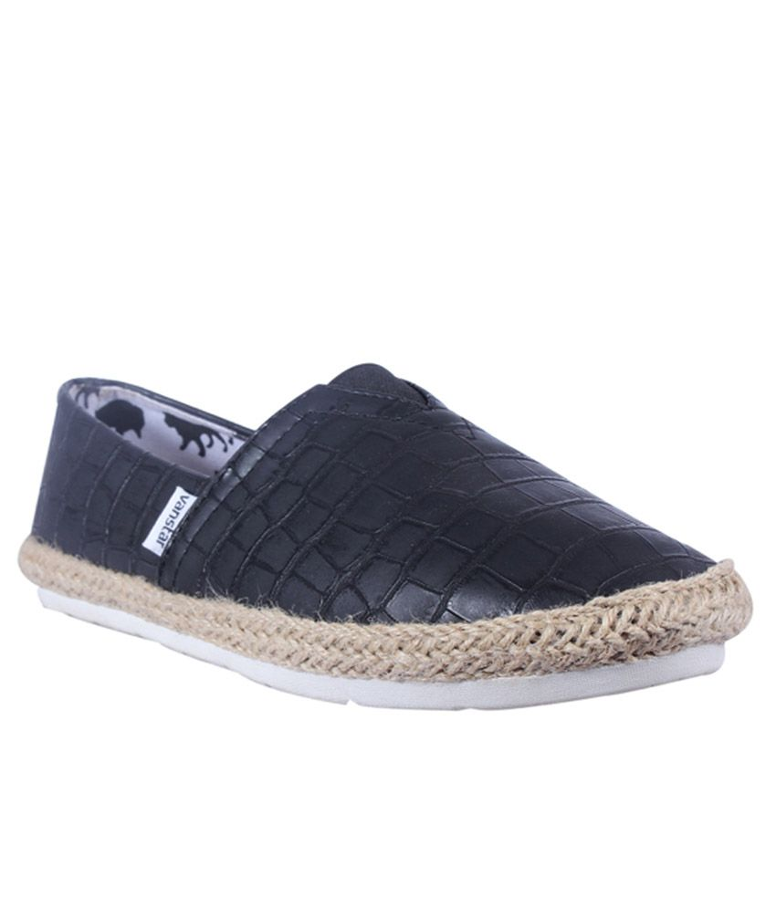 59e55a2afd Van Star Black Espadrilles Shoes - Buy Van Star Black Espadrilles Shoes  Online at Best Prices in India on Snapdeal