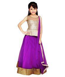 Najara Fashion Purple Lehenga For Girls