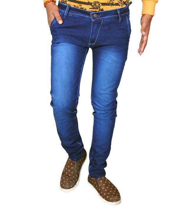 Sport-9 Blue Slim Fit Jeans