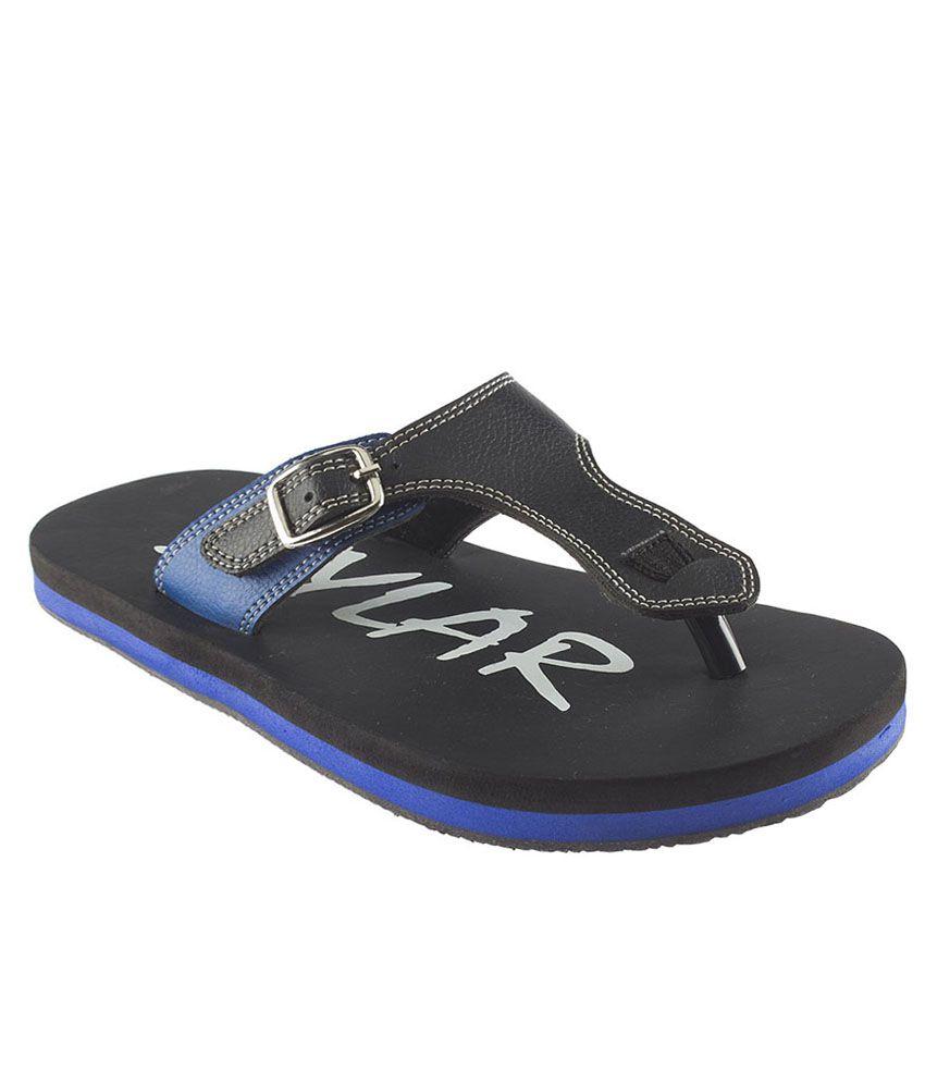 eade882c1cdb80 Stylar Black Flip Flops Price in India- Buy Stylar Black Flip Flops Online  at Snapdeal