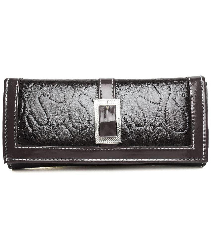 Arshi fashion Brown Non Leather Clutch