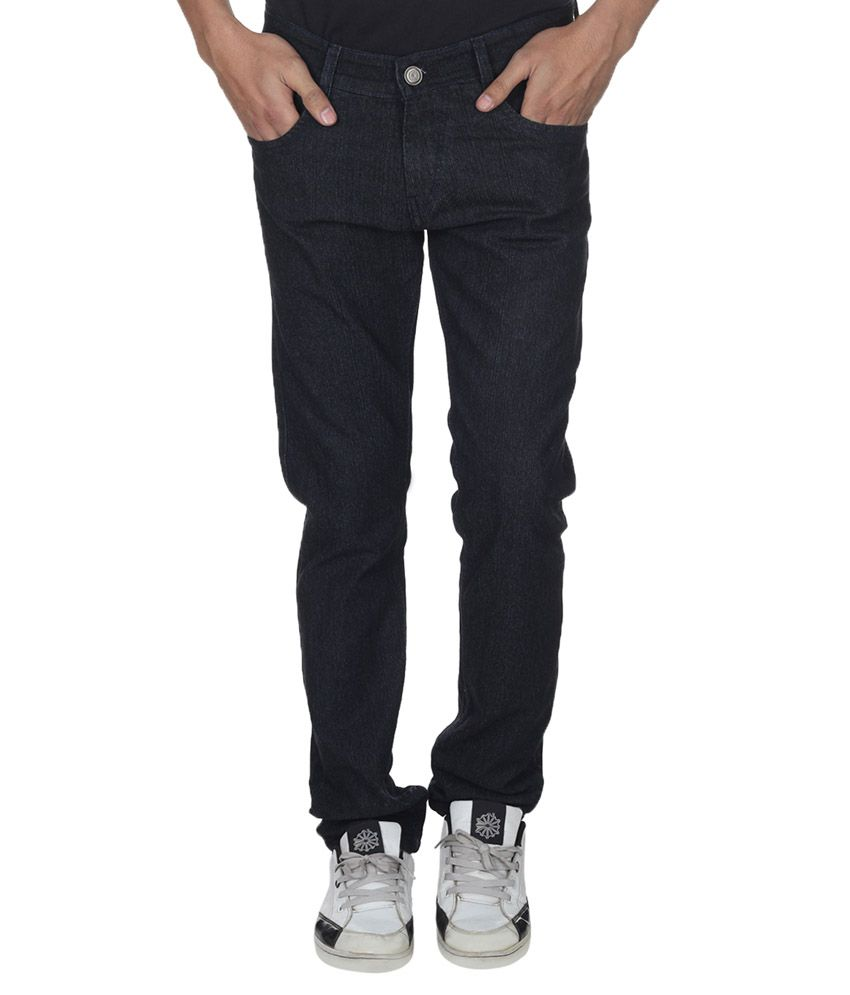 Forever19 Black Cotton Jeans
