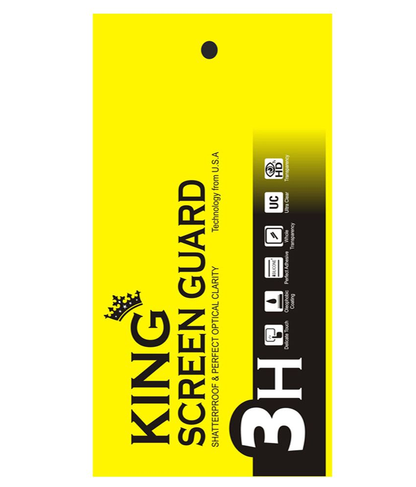 King Anti Glare Screen Guard For Samsung Galaxy J-7 - Pack Of 7