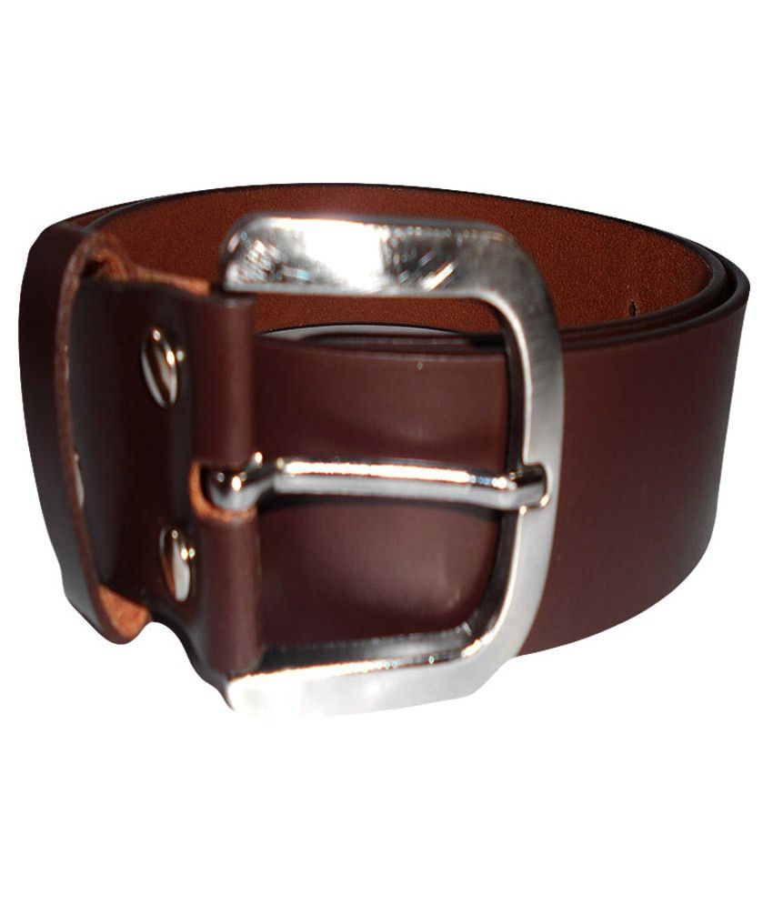 Psychovest Brown Leather Belt