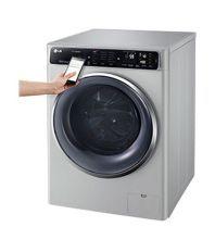 LG 10.5/7 Kg. FH4U1JBHK6N Washer Dryer Washing Machine Luxary Silver