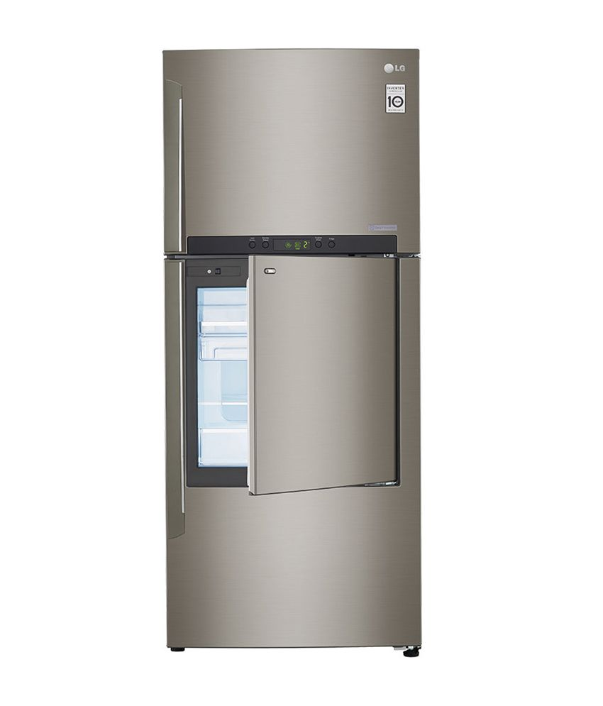 LG 426 LTR 2 Star GC-D432HLAM Frost free  Refrigerator - Shiny Steel