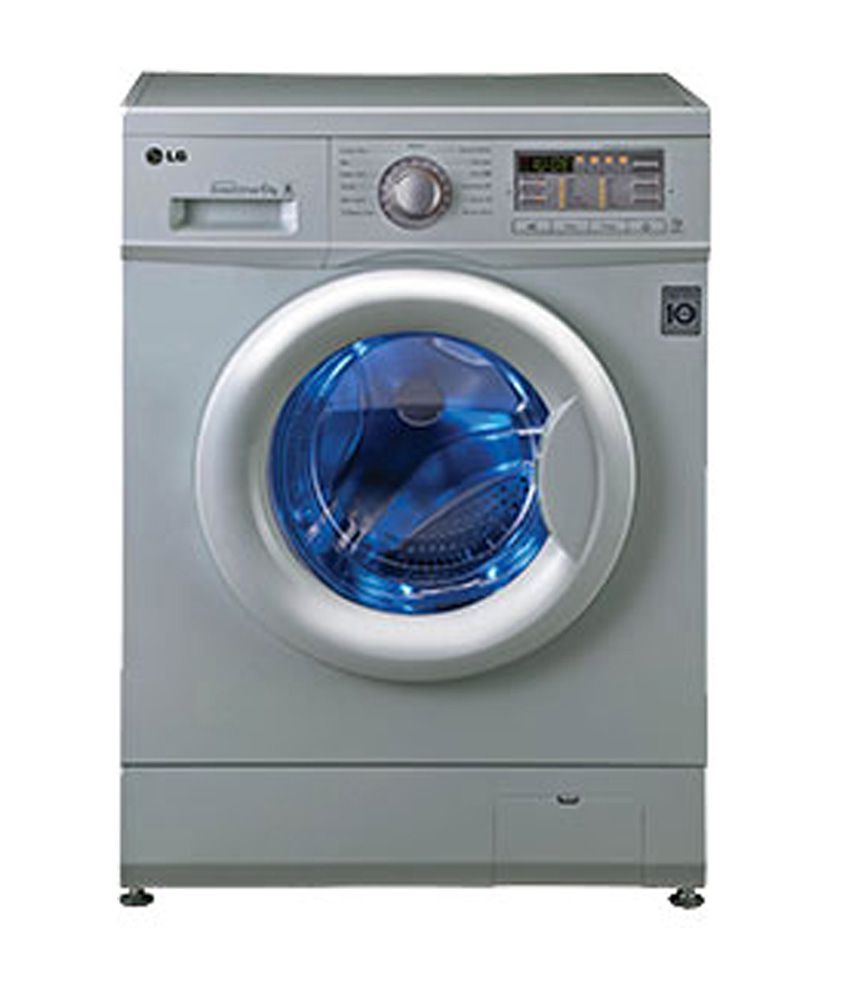 LG 6.0 Kg. FH0B8NDL25 Front Load Fully Automatic Washing Machine Luxury Silver