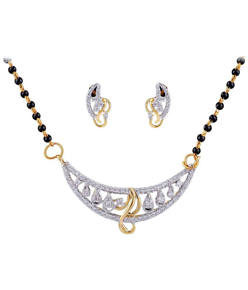 Dreamship stunning Metal mangalsutra set Artificial Jewellery