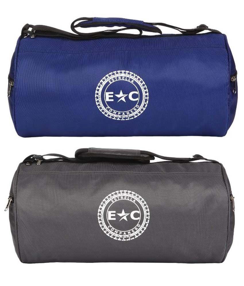Estrella Companero Multicolour Gym Bag Combo