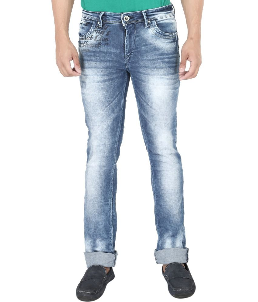 Streetguys Blue Slim Fit Jeans