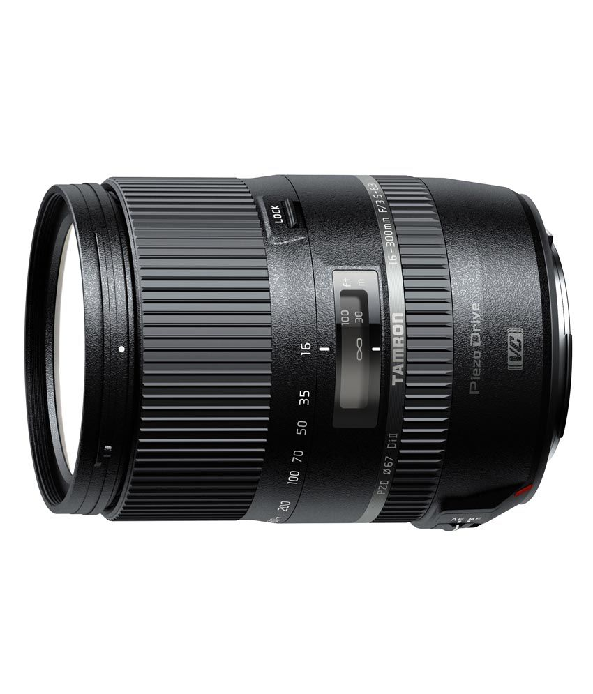 Tamron 16-300mm F/3.5 6.3 Di Ii Pzd Lens For Sony Dslr Camera