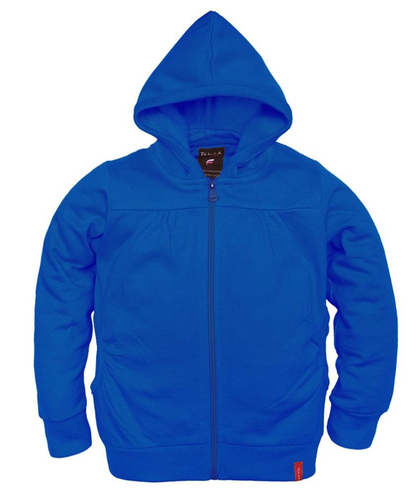 Femea Blue Fleece Sweatshirt