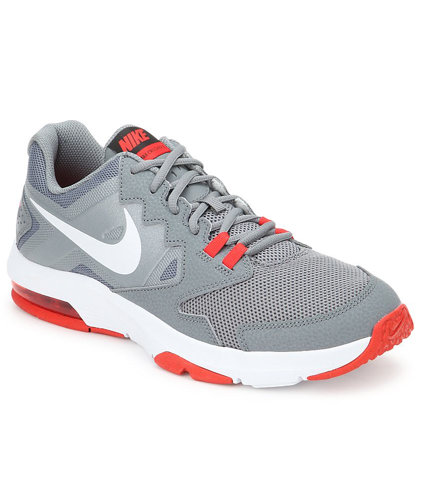 c4edcb6abc Nike Air Max Crusher 2 Gray Sport Shoes - Buy Nike Air Max Crusher 2 Gray Sport  Shoes Online at Best Prices in India on Snapdeal