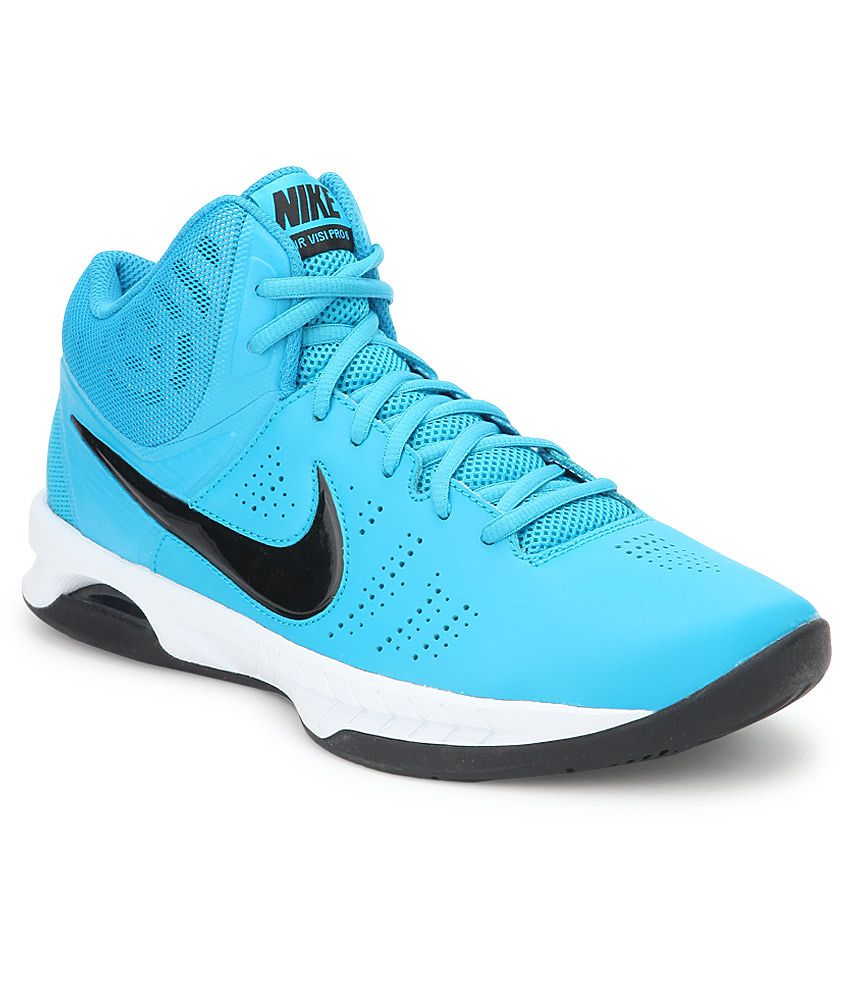 5b9ab860bbd9 Nike Air Visi Pro Vi Turquoise Sport Shoes - Buy Nike Air Visi Pro Vi  Turquoise Sport Shoes Online at Best Prices in India on Snapdeal