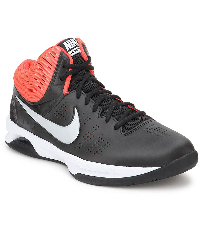 1eb6bfe4f0d Nike Air Visi Pro Vi Black Sport Shoes - Buy Nike Air Visi Pro Vi Black  Sport Shoes Online at Best Prices in India on Snapdeal