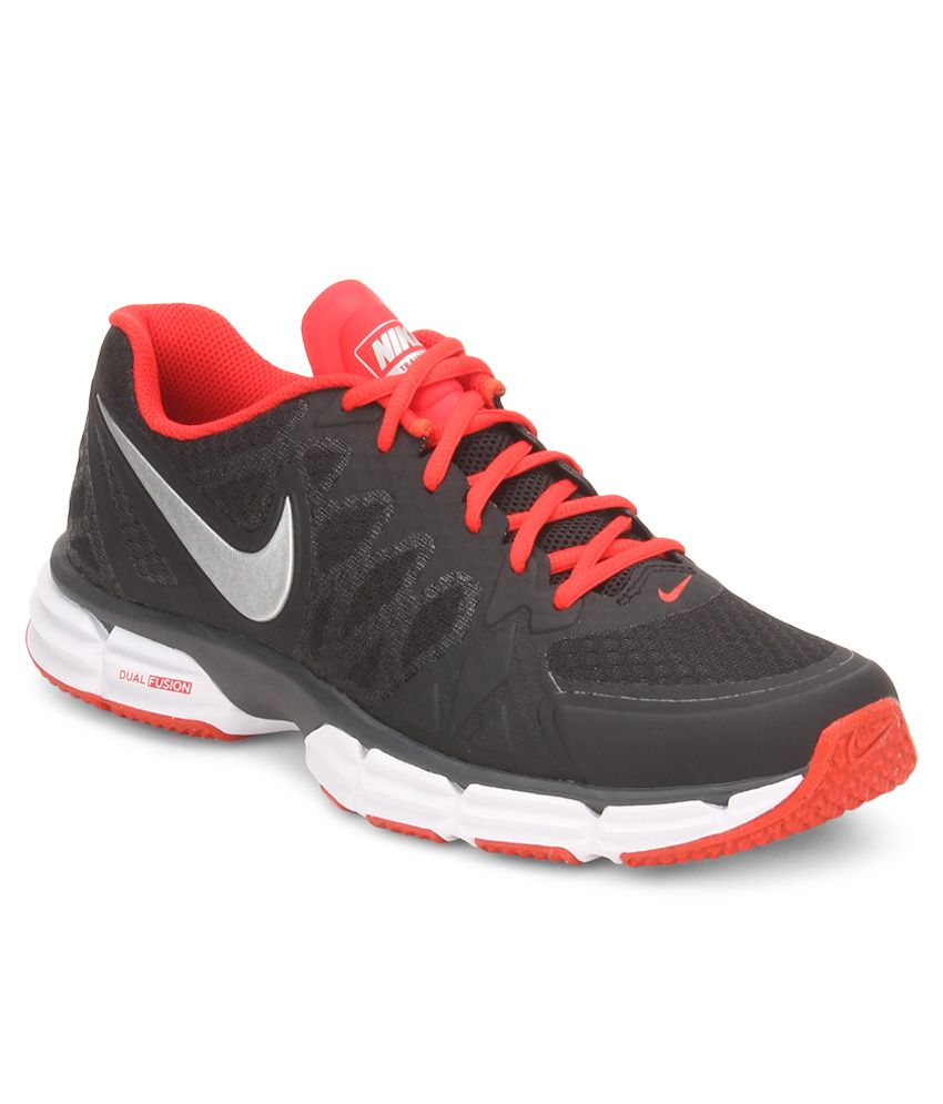 Nike Dual Fusion Tr 6 Black Sport Shoes - Buy Nike Dual Fusion Tr 6 Black Sport  Shoes Online at Best Prices in India on Snapdeal 9043efcf8