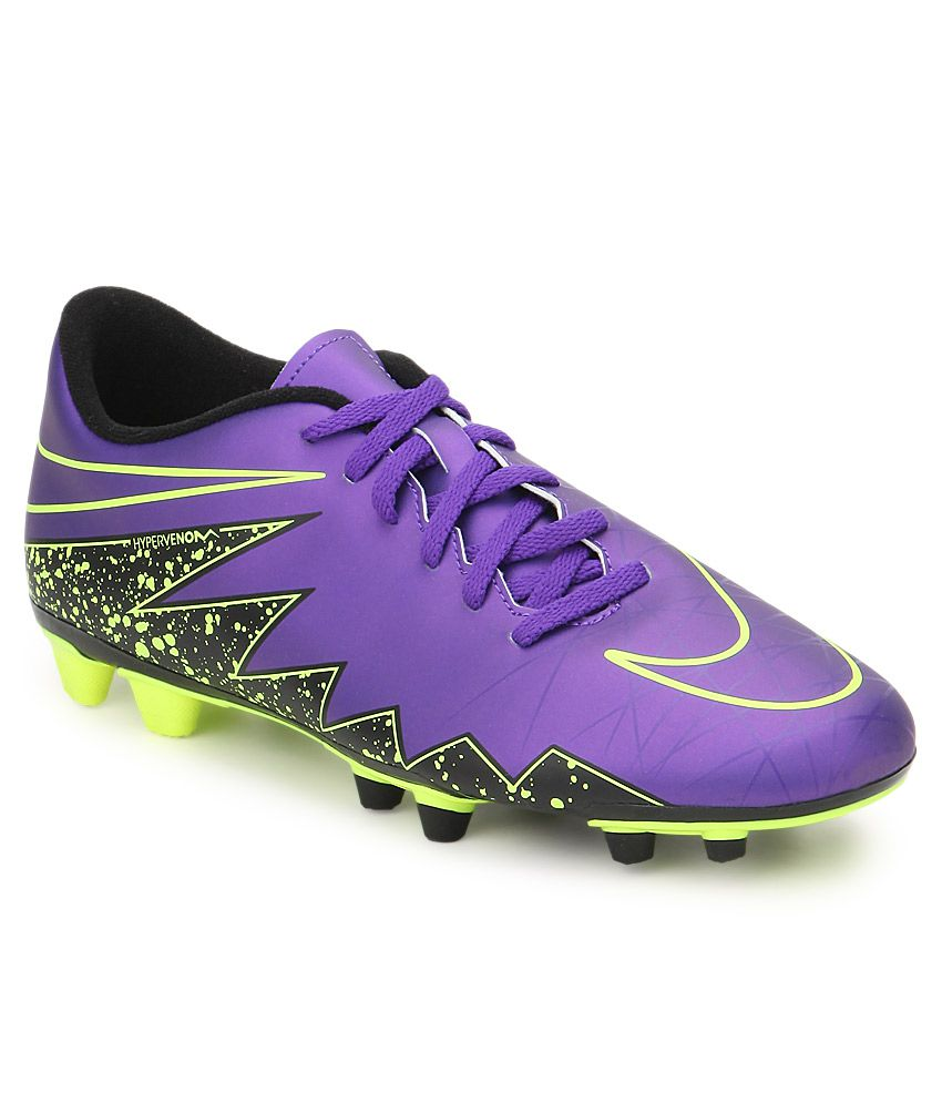 bb1ee00a0167 Nike Hypervenom Phade Ii Fg Purple Sport Shoes - Buy Nike Hypervenom ...