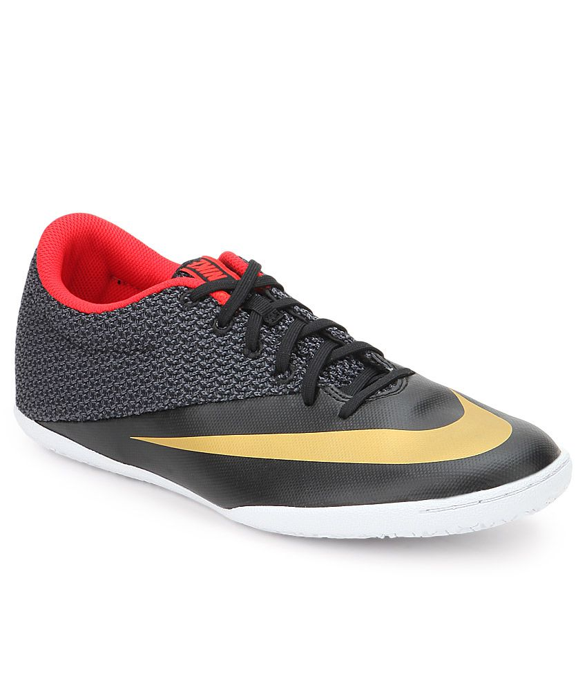 d53e227fc508 Nike Mercurialx Pro Ic Black Sport Shoes - Buy Nike Mercurialx Pro Ic Black  Sport Shoes Online at Best Prices in India on Snapdeal