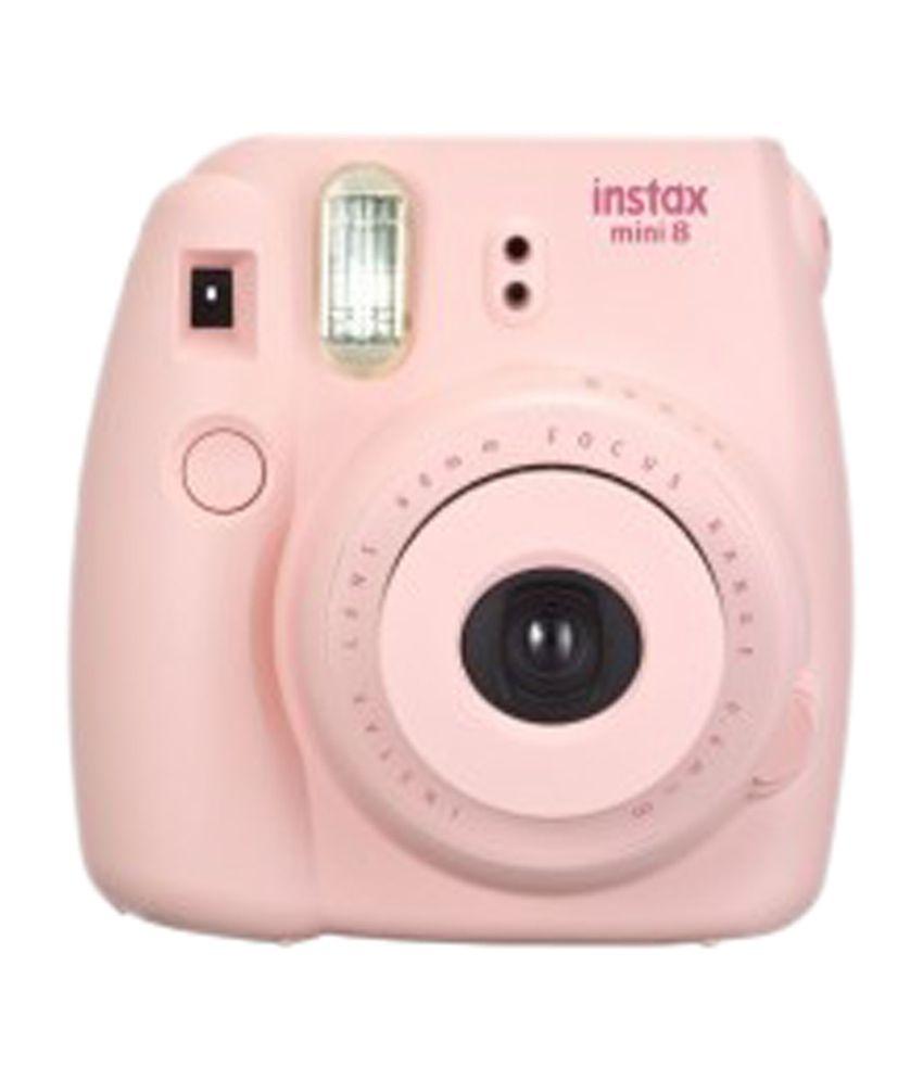 fujifilm instax mini 8 digital camera pink price in india buy fujifilm instax mini 8 digital. Black Bedroom Furniture Sets. Home Design Ideas
