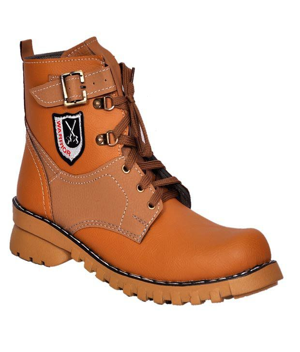 Mochi G Tan Boots