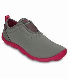 Crocs Gray Casual Shoes Standard Fit