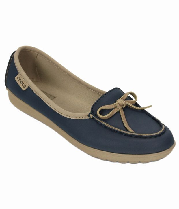 8a8303ef8 Crocs Navy Standard Fit Ballerinas Price in India