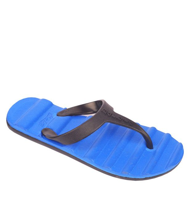 Maico Blue Flip Flops